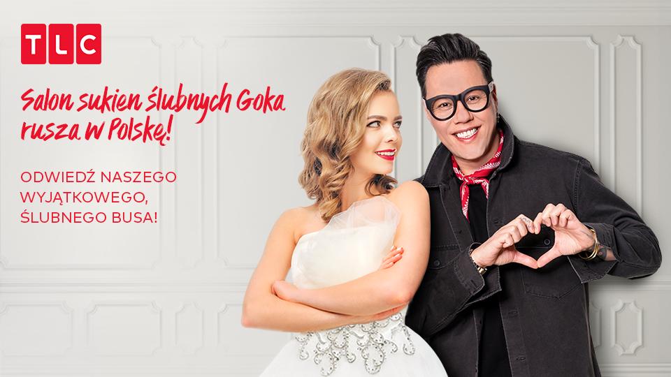 e2c191d650 Salon sukien ślubnych Goka rusza w Polskę!