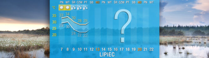 Pogoda na 16 dni: największy upał dopiero przed nami