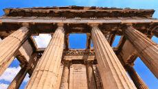Ateny zadrżały, chwiały się tam budynki