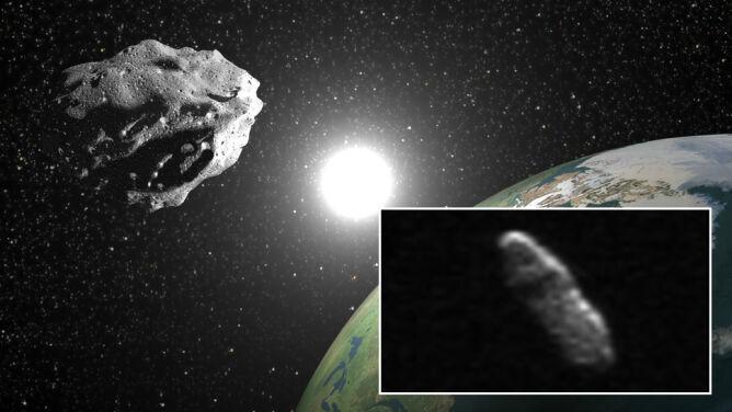 """Asteroida w Wigilię minęła Ziemię """"o włos"""""""
