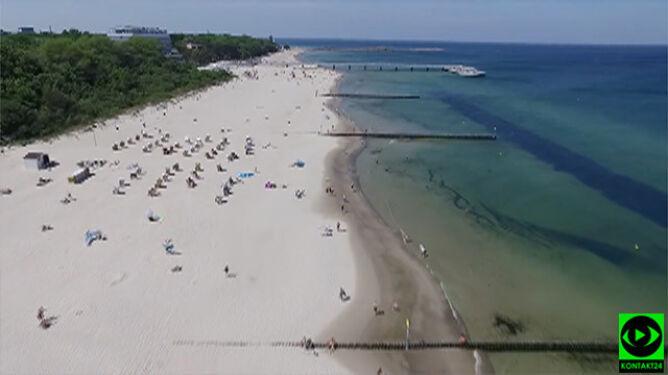 W Kołobrzegu 29 stopni, w Ustce 30. <br />Polacy przymierzają się do plażowania