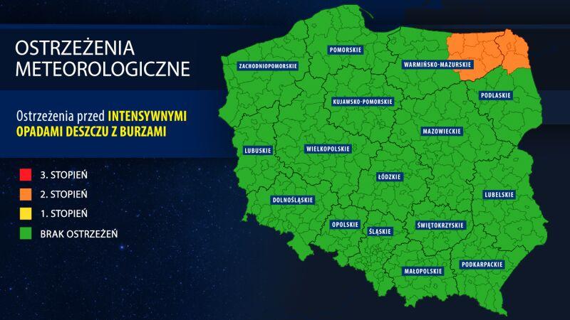 Ostrzeżenia meteorologiczne IMGW