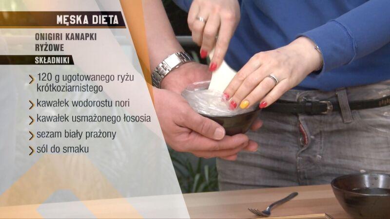 Przepis na onigiri