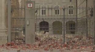 Niektóre budynki zostały uszkodzone