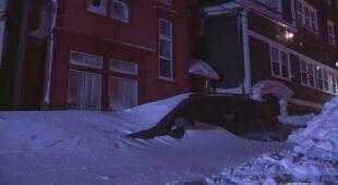 Intensywne opady śniegu w Kanadzie